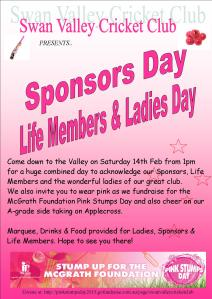 SVCC Sponsors Pink Day